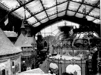 """<em>""""Paris Exposition: Agricultural Section, Paris, France, 1900""""</em>, 1900. Glass negative 3.25x4.25in, 3.25 x 4.25 in. Brooklyn Museum, Goodyear. (Photo: Brooklyn Museum, S03i1499n01a.jpg"""