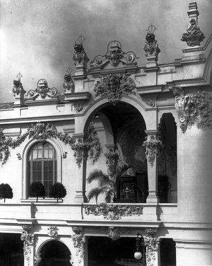 "<em>""Paris Exposition: Austria-Hungary Pavilion, Paris, France, 1900""</em>, 1900. Bw copy print 8x10in, 8 x 10 in. Brooklyn Museum, Goodyear. (Photo: Brooklyn Museum, S03i1501c01a.jpg"