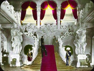 "<em>""Paris Exposition: Austrian Pavilion, Paris, France, 1900""</em>, 1900. Lantern slide 3.25x4in, 3.25 x 4 in. Brooklyn Museum, Goodyear. (Photo: Brooklyn Museum, S03i1503l01.jpg"