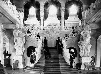 "<em>""Paris Exposition: Austrian Pavilion, Paris, France, 1900""</em>, 1900. Glass negative 3.25x4.25in, 3.25 x 4.25 in. Brooklyn Museum, Goodyear. (Photo: Brooklyn Museum, S03i1503n01a.jpg"
