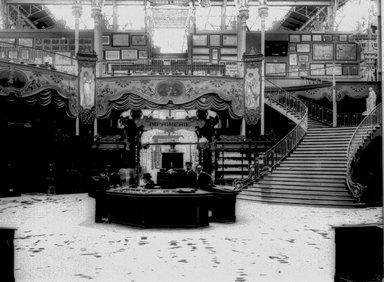"<em>""Paris Exposition: Bosnia-Herzegovinian Pavilion, Paris, France, 1900""</em>, 1900. Glass negative 3.25x4.25in, 3.25 x 4.25 in. Brooklyn Museum, Goodyear. (Photo: Brooklyn Museum, S03i1505n01a.jpg"