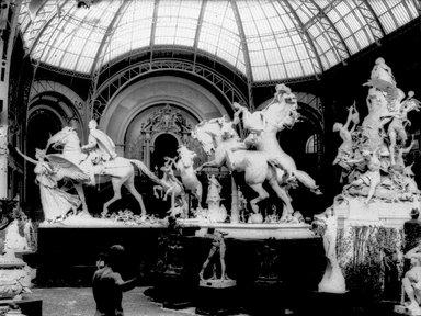 "<em>""Paris Exposition: Grand Palais, Paris, France, 1900""</em>, 1900. Glass negative 3.25x4.25in, 3.25 x 4.25 in. Brooklyn Museum, Goodyear. (Photo: Brooklyn Museum, S03i1514n01a.jpg"