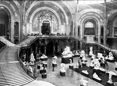 "<em>""Paris Exposition: Grand Palais, Paris, France, 1900""</em>, 1900. Glass negative 8x10in, 8 x 10 in. Brooklyn Museum, Goodyear. (Photo: Brooklyn Museum, S03i1515n01a.jpg"