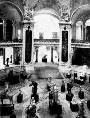 "<em>""Paris Exposition: Grand Palais, Paris, France, 1900""</em>, 1900. Glass negative 3.25x4.25in, 3.25 x 4.25 in. Brooklyn Museum, Goodyear. (Photo: Brooklyn Museum, S03i1517n01a.jpg"