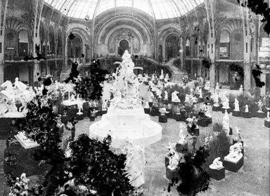 "<em>""Paris Exposition: Grand Palais, Paris, France, 1900""</em>, 1900. Glass negative 3.25x4.25in, 3.25 x 4.25 in. Brooklyn Museum, Goodyear. (Photo: Brooklyn Museum, S03i1518n01a.jpg"
