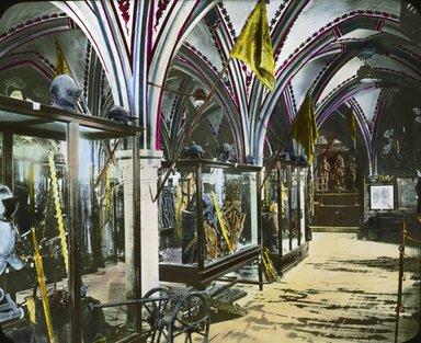 "<em>""Paris Exposition: Hungarian Pavilion, Paris, France, 1900""</em>, 1900. Lantern slide 3.25x4in, 3.25 x 4 in. Brooklyn Museum, Goodyear. (Photo: Brooklyn Museum, S03i1520l01.jpg"