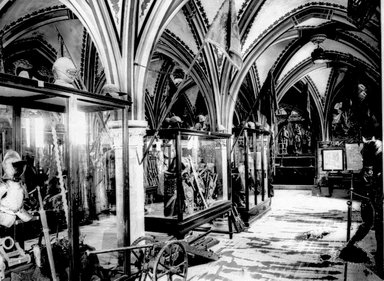 "<em>""Paris Exposition: Hungarian Pavilion, Paris, France, 1900""</em>, 1900. Glass negative 3.25x4.25in, 3.25 x 4.25 in. Brooklyn Museum, Goodyear. (Photo: Brooklyn Museum, S03i1520n01a.jpg"