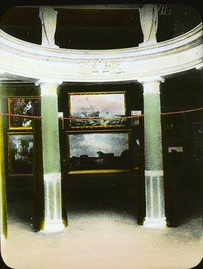 "<em>""Paris Exposition: interior view, Paris, France, 1900""</em>, 1900. Lantern slide 3.25x4in, 3.25 x 4 in. Brooklyn Museum, Goodyear. (Photo: Brooklyn Museum, S03i1562l01a.jpg"