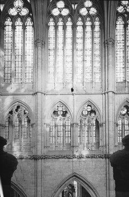 "<em>""Cathedral, Amiens, France, 1907""</em>, 1907. Lantern slide 3.25x4in, 3.25 x 4 in. Brooklyn Museum, Goodyear. (Photo: Brooklyn Museum, S03i1814l01.jpg"