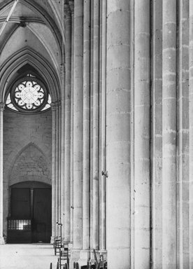 "<em>""Cathedral, Amiens, France, 1907""</em>, 1907. Lantern slide 3.25x4in, 3.25 x 4 in. Brooklyn Museum, Goodyear. (Photo: Brooklyn Museum, S03i1815l01.jpg"