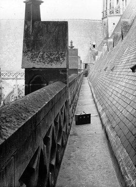 "<em>""Cathedral, Amiens, France, 1907""</em>, 1907. Lantern slide 3.25x4in, 3.25 x 4 in. Brooklyn Museum, Goodyear. (Photo: Brooklyn Museum, S03i1817l01.jpg"