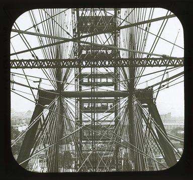 "<em>""World's Columbian Exposition: Ferris Wheel, Chicago, United States, 1893""</em>, 1893. Lantern slide 3.25x4in, 3.25 x 4 in. Brooklyn Museum, Goodyear. (Photo: Brooklyn Museum, S03i2193l01_SL1.jpg"