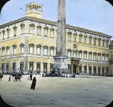 "<em>""Church of S. John Lateran, Rome, Italy""</em>. Lantern slide 3.25x4in, 3.25 x 4 in. Brooklyn Museum, Goodyear. (Photo: T.H. McAllister, S03i2740l01.jpg"