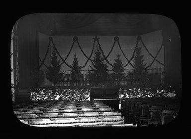 "<em>""Views: U.S., Brooklyn. Brooklyn, Adelphi College. View 010: Auditorium of Adelphi College, 1900.""</em>, 1900. Lantern slide 3.25x4in, 3.25 x 4 in. Brooklyn Museum, CHART_2011. (Photo: W.W. Share Ph.D, S10_21_US_Brooklyn_Brooklyn_Adelphi_College010.jpg"