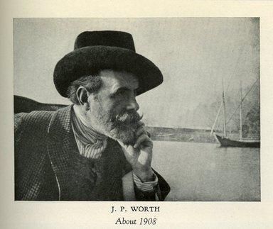 "<em>""J.P. Worth, about 1908.""</em>. Printed material, 6.25 in. x 10.75in (16 x 27.5cm). Brooklyn Museum. (TT505_W8_A2_Worth_p086_Worth_1908.jpg"
