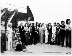 "<em>""AIR Gallery group portrait, September 16, 1972.""</em>, 1972. Bw photographic print, 8x10in. Brooklyn Museum. (Photo: Linda Jane Gustas, N242_U5_A1g_Gustas_AIR_Gallery_Group_Portrait_SL1.jpg"