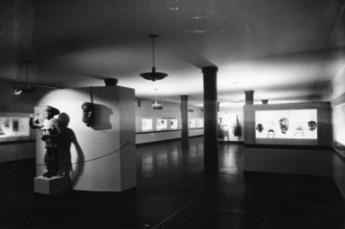 Masks: Barbaric and Civilized. [10/25/1939 - 01/01/1940]. Installation view.