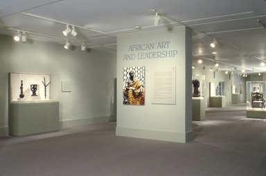 African Art and Leadership, April 15, 1989 through August 21, 1989 (Image: AON_E1989i001.jpg Brooklyn Museum photograph, 1989)