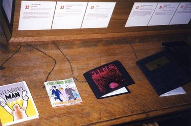 Working in Brooklyn: Artists Books, February 03, 2000 through May 07, 2000 (Image: ARL_E2000i044.jpg Brooklyn Museum photograph, 2000)