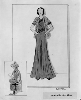 Designs by Students Inspired by the Persian Exhibition, May 18, 1931 through May 24, 1931 (Image: ASI_E1931i019.jpg Brooklyn Museum photograph, 1931)