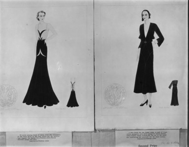 Designs by Students Inspired by the Persian Exhibition, May 18, 1931 through May 24, 1931 (Image: ASI_E1931i027.jpg Brooklyn Museum photograph, 1931)