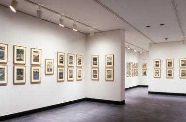 Curator's Choice: Hiroshige, One Hundred Famous Views of Edo, September 23, 1987 through November 30, 1987 (Image: ASI_E1987i006.jpg Brooklyn Museum photograph, 1987)