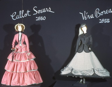 Two Centuries of French Fashion Elegance, September 26, 1949 through January 08, 1950 (Image: CTX_E1949i001.jpg Brooklyn Museum photograph, 1949)