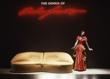 Genius of Charles James, October 16, 1982 through January 16, 1983 (Image: CTX_E1982i003.jpg Brooklyn Museum photograph, 1982)