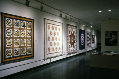 Curator's Choice: Quilts. [11/21/1984 - 02/04/1985]. Installation view.