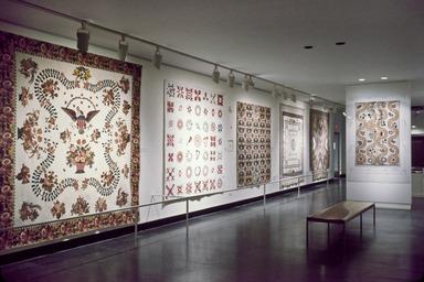Curator's Choice: Quilts, November 21, 1985 through February 04, 1985 (Image: CTX_E1984i004_SL3.jpg Brooklyn Museum photograph, 1984)