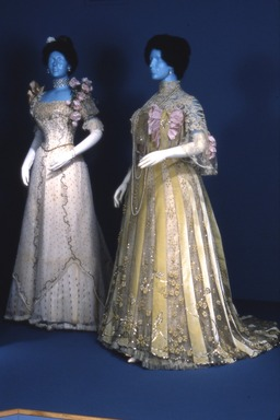 Opulent Era: Fashions of Worth, Doucet and Pingat, December 01, 1989 through February 26, 1990 (Image: CTX_E1989i032.jpg Brooklyn Museum photograph, 1989)