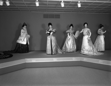 Opulent Era: Fashions of Worth, Doucet and Pingat, December 01, 1989 through February 26, 1990 (Image: CTX_E1989i056.jpg Brooklyn Museum photograph, 1989)