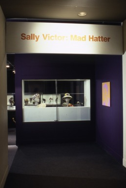 Sally Victor: Mad Hatter, 1935-1965, March 27, 1998 through June 21, 1998 (Image: CTX_E1998i001.jpg Brooklyn Museum photograph, 1998)