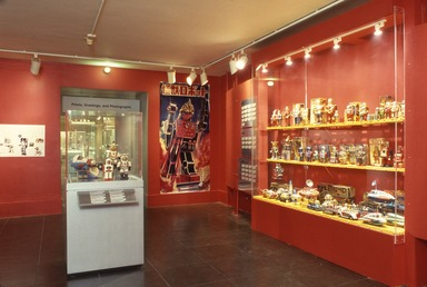 Robots and Space Toys: The Robert Lesser Collection, November 04, 2000 through January 28, 2001 (Image: DEC_E2000i030.jpg Brooklyn Museum photograph, 2000)