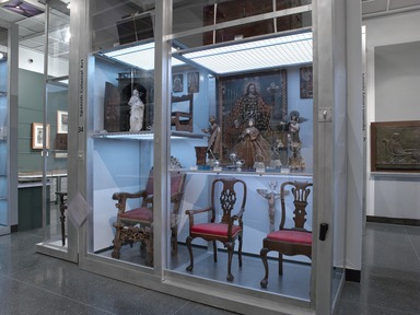 Luce Visible Storage/Study Center, January 14, 2005 through 2099 (Image: DIG_E2005_Luce_29_Spanish_colonial_art_PS2.jpg Brooklyn Museum photograph, 2005)