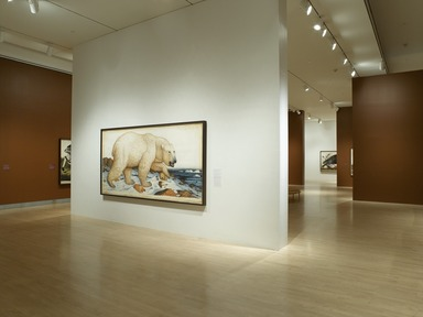 Tigers of Wrath: Watercolors by Walton Ford, November 3, 2006 through January 28, 2007 (Image: DIG_E2006_Ford_09_PS2.jpg Brooklyn Museum photograph, 2006)