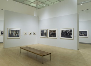 Annie Leibovitz: A Photographer's Life, 1990-2005, October 20, 2006 through January 21, 2007 (Image: DIG_E2006_Leibovitz_12_PS2.jpg Brooklyn Museum photograph, 2006)