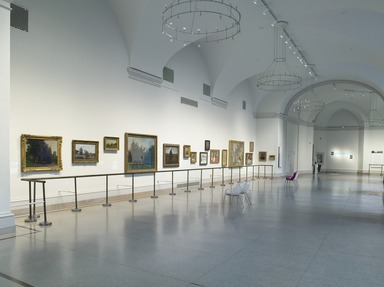 About Time: 700 Years of European Painting. [10/03/2003 - 01/07/2008]. Installation view.