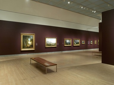 Kindred Spirits: Asher B. Durand and the American Landscape. [03/30/2007 - 07/29/2007]. Installation view.