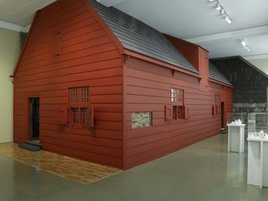 Jan Martense Schenck House, 1676 (long-term installation), July 13, 2007 through Current (Image: DIG_E2007_Schenck_03_PS2.jpg Brooklyn Museum photograph, 2007)