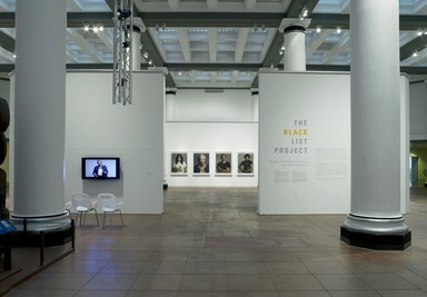 The Black List Project: Timothy Greenfield-Sanders and Elvis Mitchell. [11/21/2008-03/29/2009]. Installation view.