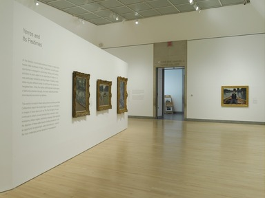 Gustave Caillebotte: Impressionist Paintings from Paris to the Sea, March 27, 2009 through July 5, 2009 (Image: DIG_E2009_Gustave_Caillebotte_04_PS2.jpg Brooklyn Museum photograph, 2009)