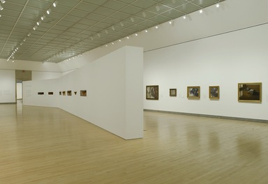 Gustave Caillebotte: Impressionist Paintings from Paris to the Sea. [03/27/2009-07/05/2009]. Installation view.