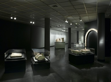 Unearthing the Truth: Egypt's Pagan and Coptic Sculpture. [02/13/2009-05/10/2009]. Installation view.