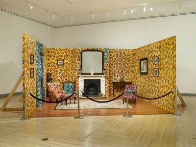 Mother and Father Worked Hard So I Can Play: Yinka Shonibare, June 26, 2009 through September 20, 2009 (Image: DIG_E2009_Yinka_Shonibare_11_PS2.jpg Brooklyn Museum photograph, 2009)