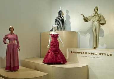 American High Style: Fashioning a National Collection, May 07, 2010 through August 01, 2010 (Image: DIG_E2010_American_High_Style_01_PS2.jpg Brooklyn Museum photograph, 2010)