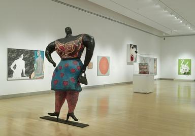 SeductiveSubversion: Women Pop Artist, 1958–1968, October 15, 2010 through January 9, 2011 (Image: DIG_E2010_Seductive_Subversion_16_PS4.jpg Brooklyn Museum photograph, 2010)