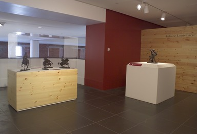 Michelangelo of the Menagerie: Bronze Works by Antoine-Louis Barye. [04/29/2005 - 08/02/2006].  Installation view.