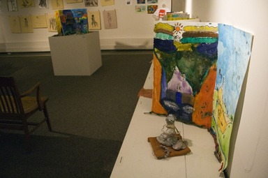 Education Gallery Student Art Exhibition (Spring 2009). [06/06/2009 - 08/03/2009]. Installation view.