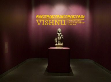 Vishnu: Hinduism's Blue-Skinned Savior, June 24, 2011 through October 2, 2011 (Image: DIG_E_2011_Vishnu_02_PS4.jpg Brooklyn Museum photograph, 2011)
